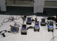 Many PDA's demonstrating MSXPLAYer