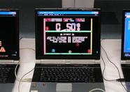 MSXPLAYer at work