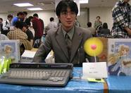 Mr. Urata shows the awesome capabilities of the MSX-USB convertor.