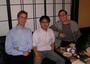 Sander, Mr. Ikeda and Bernard