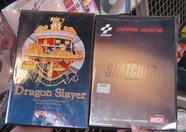Dragon Slayer 6 (500 yen), Konami Snatcher (9800 yen)