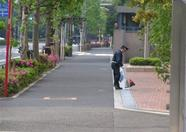 At 6:00 AM, someone just has to clean the little mess the millions of citizens of Tokyo leave behind