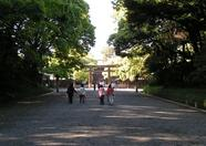 ...on they way to the Meiji shrine...