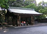 ...Meiji shrine area...