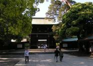 ...Meiji shrine area...