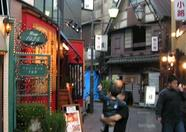 Outside the mall, we walked into this beautiful, old style and quiet streets where many restaurants could be found