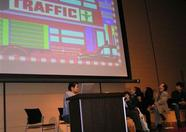 Traffic! What a cool game. I didn't know it before, but it's an original concept. And difficult as #*&$$*