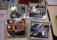 The 3 FMPSG CDs and the preview disc that have been released so far