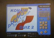 Delta Soft's Konami Quiz 2 promo running on MSXPLAYer