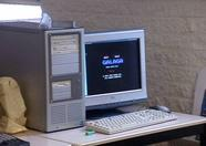 A PC on an MSX club meeting? As long as it's running an MSX emulator, why not?