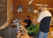 The 8280s provided by MSX Club Groningen were used mainly for gaming
