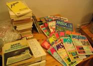 MSX Books and magazines from all around the world