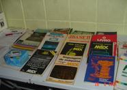Several MSX books.