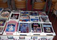 Framed MSX posters