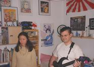 Marcelino playing guitar