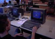 I wonder how long it's been since so many people played pacman at the same time in the same room...
