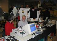 Bob Roos, also selling loads of 2nd hand goodies.