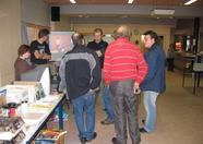 The Nowind booth had quite some attention all day.