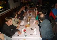 The traditional dinner in the Chinese restaurant.
