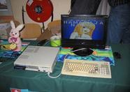 A Sony MSX2 running The best of Hamaraja Night