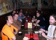 And after the fair, some MSX-ers enjoyed a well deserved dinner at a Greek restaurant in Tilburg