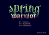 Spring Warrior publicado