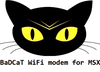 BaDCaT WiFi modem for MSX