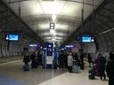 Trainstation at Helsinki Airport