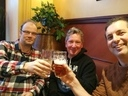 Mika, Bas & Arno. Kippis (Finnish for Cheers)