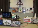 Works of MSX art on display