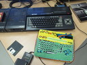 An excellent example of a handmade casing for your MSX machine
