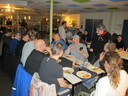 Fun and interesting chats at the post-fair dinner